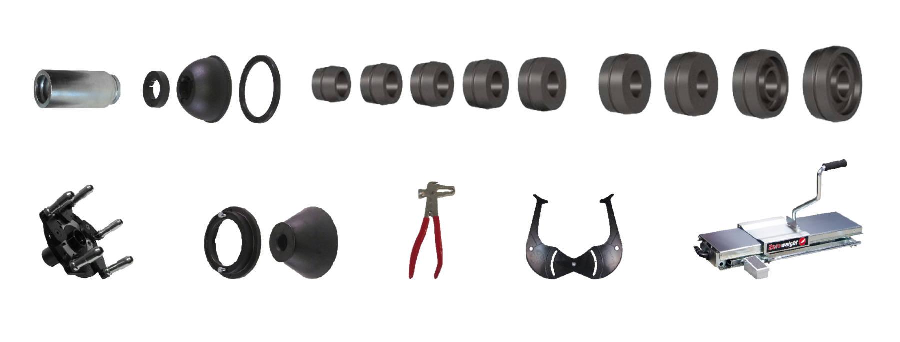 Cemb_ER100_EVO_Wheel_Balancer_Accessories