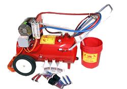 heated transmission flush machine